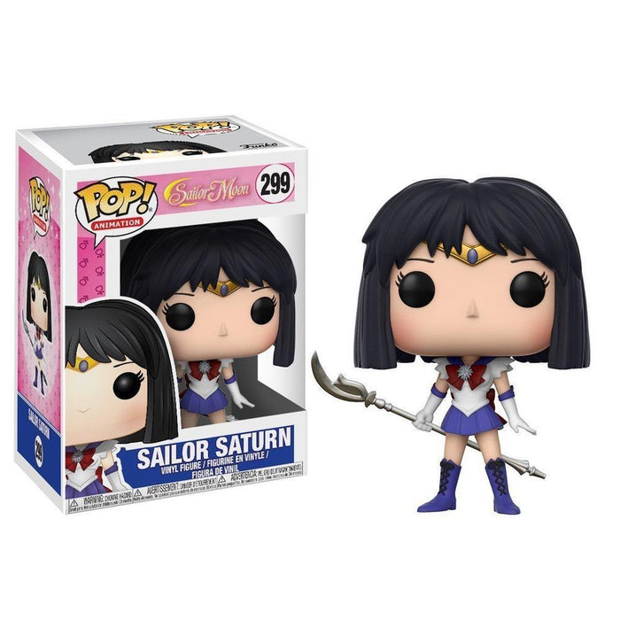 Funko Pop! Anime: Sailor Moon W2 - Sailor Saturn (Vinyl Figure)-Fumble Pop!
