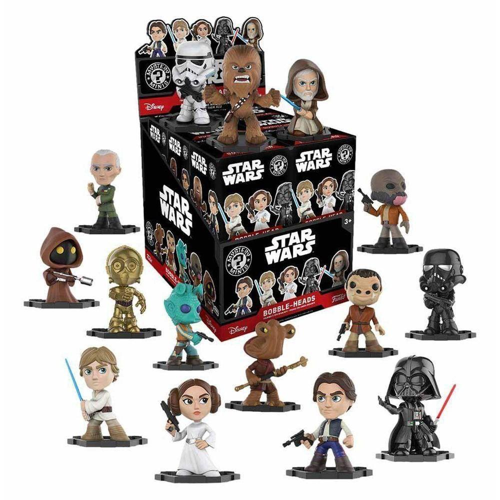Funko Pop! Mystery Minis: Star Wars Classic (One Figure Per Purchase) (Vinyl Figure)-Fumble Pop!