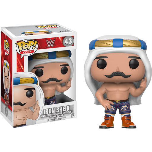 FUNKO POP! WWE: S6 - Iron Sheik (Vinyl Figure)-Fumble Pop!