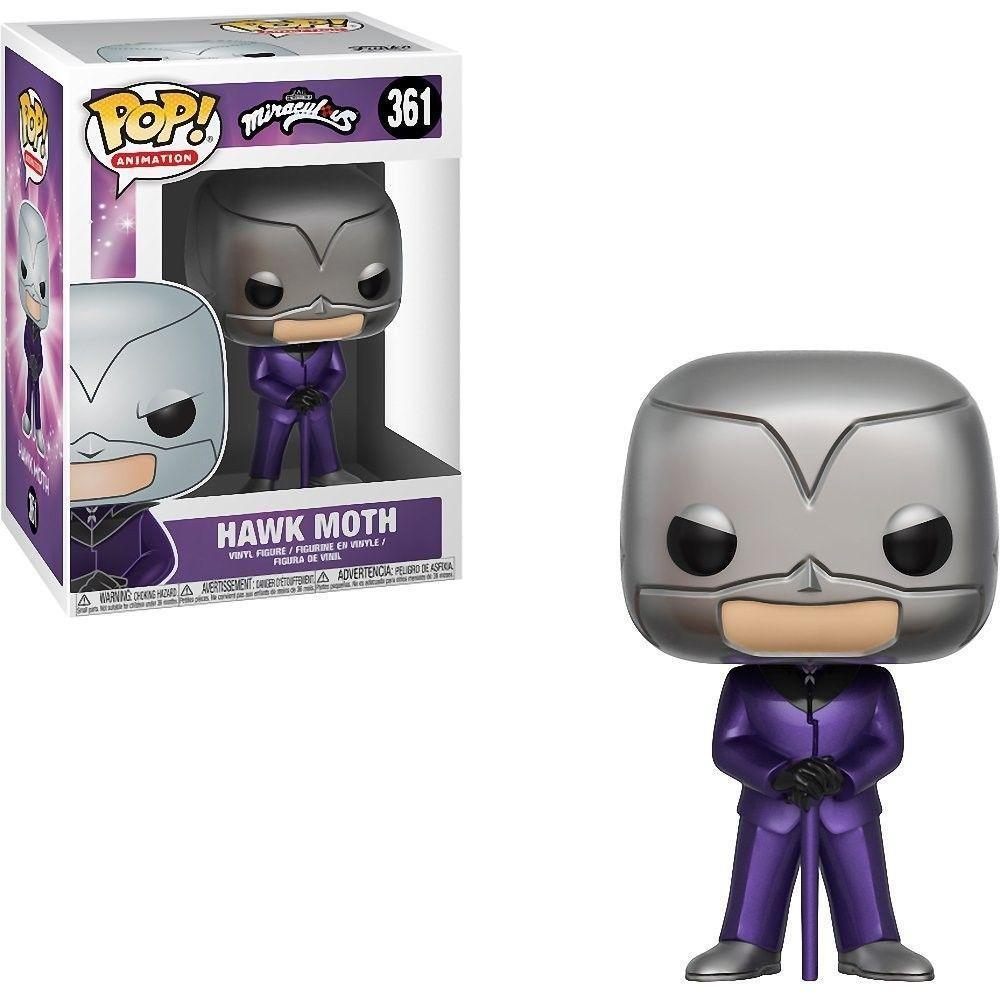 Funko POP Animation: Miraculous S1- Hawk Moth-Fumble Pop!