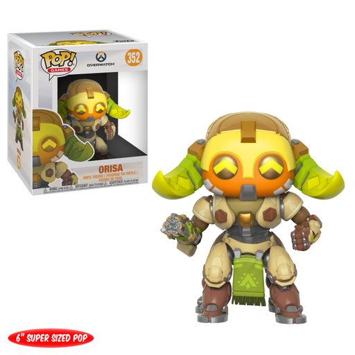 Funko Pop! Games: Overwatch - Orisa 6 (Vinyl Figure)-Fumble Pop!