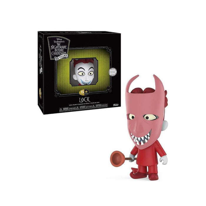 Funko Pop! The Night Before Christmas - Lock 5 Star Pop! Disney Funko Vinyl Figure-Fumble Pop!