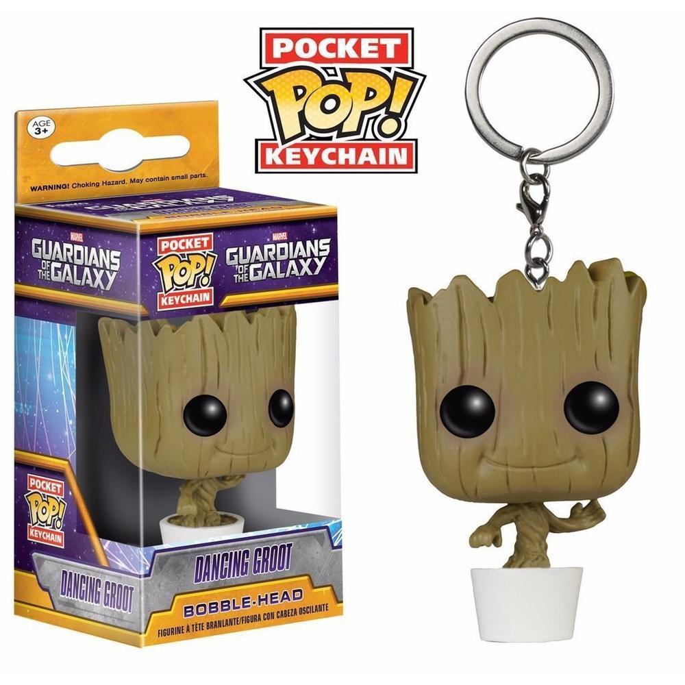 Funko Pop! Pocket Keychain: GOTG - Baby Groot-Fumble Pop!