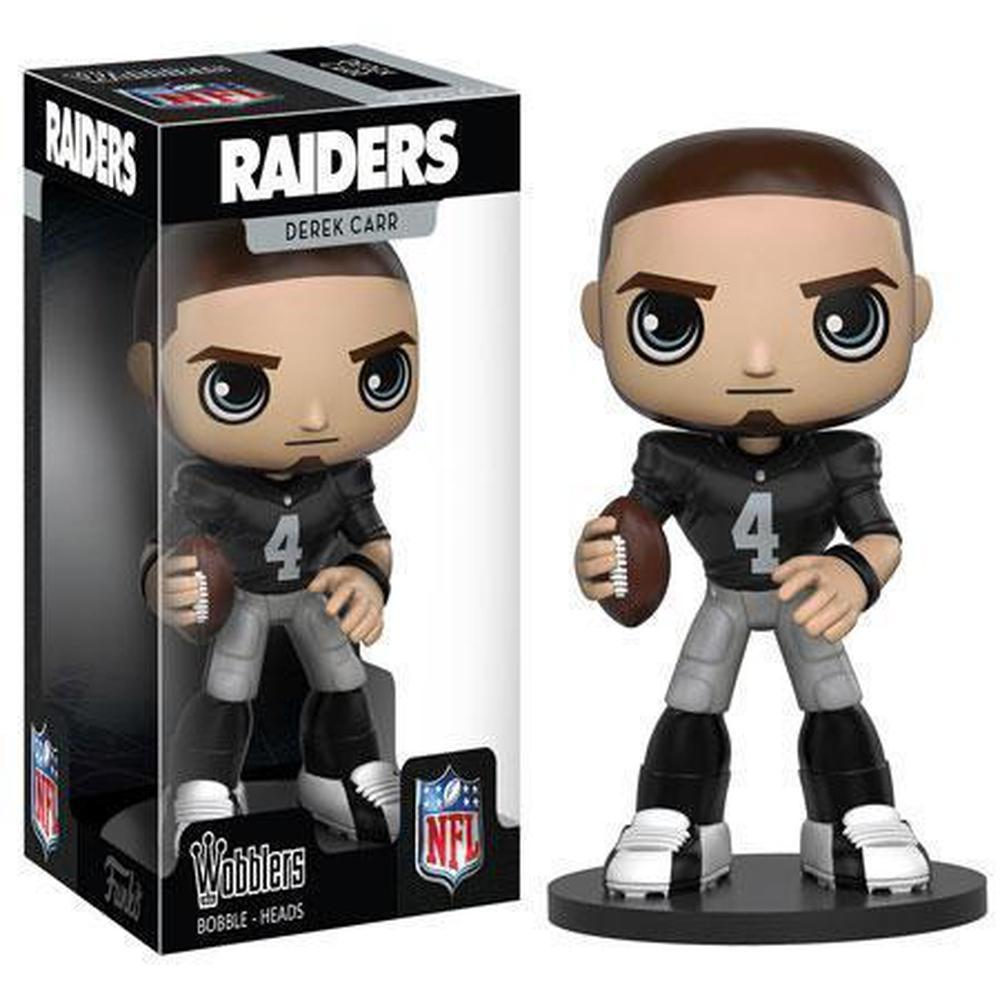 Funko Pop! Wobbler Sports: NFL - Derek Carr (Vinyl Figure)-Fumble Pop!