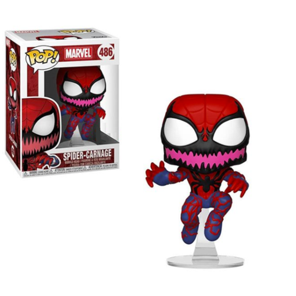 Funko Pop! Movies: Pop! Marvel: Spider-Carnage (Pre-Order)-Fumble Pop!