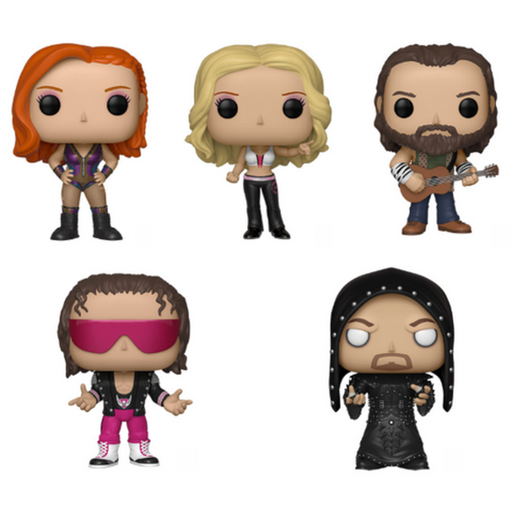 Funko Pop WWE Funko Pop! Complete Set of 5 (Pre-Order)-Fumble Pop!