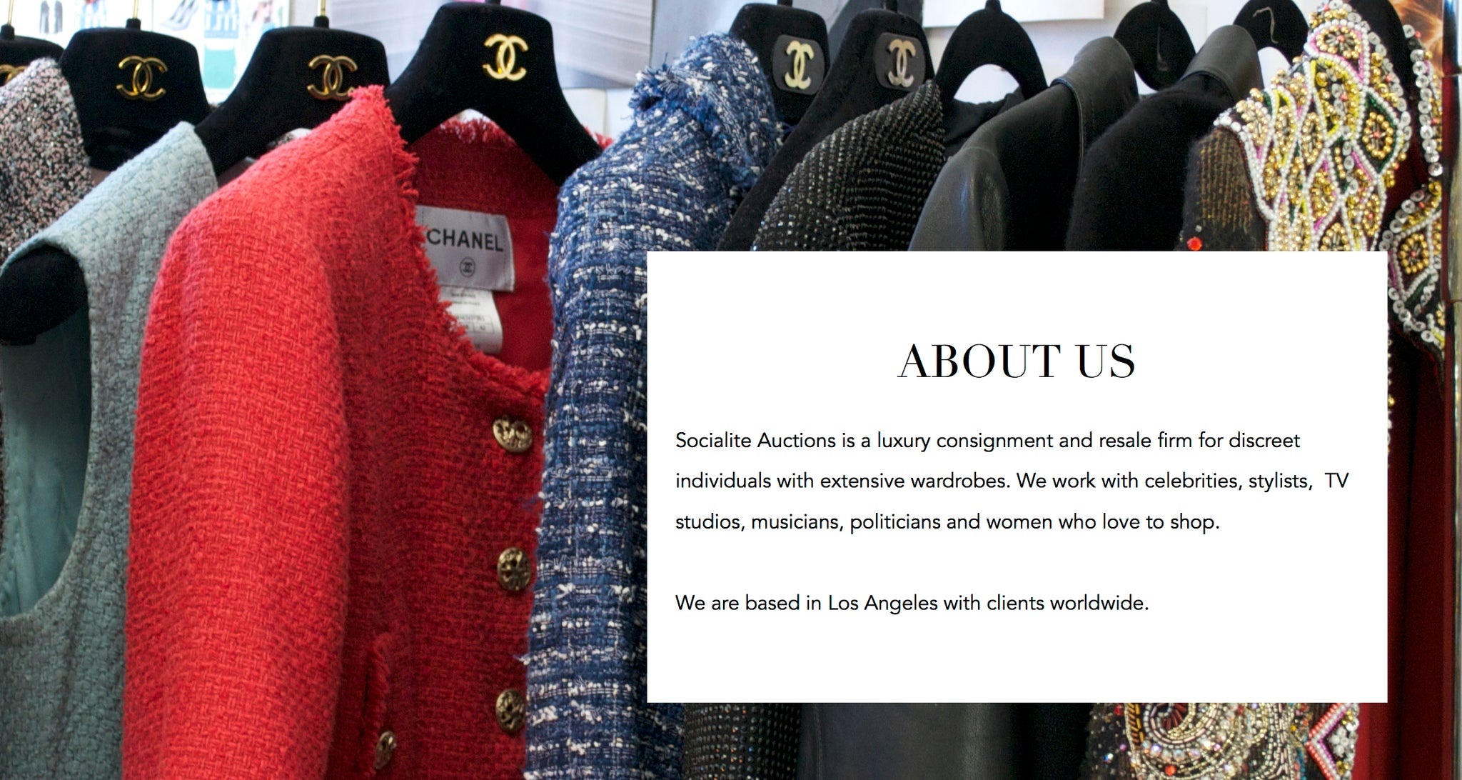 About Socialite Auctions Luxury Consignment & Resale
