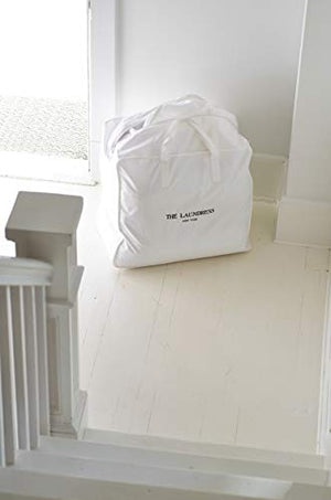 The Laundress White Cotton Laundry Bag