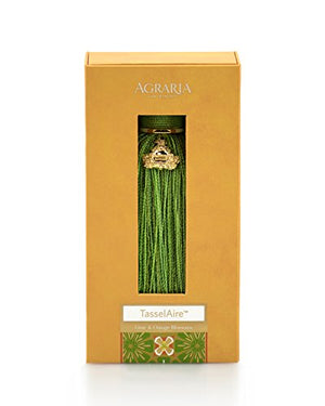AGRARIA TasselAire Luxury Fragrance Tassel Freshener, Single (Lime & Orange)