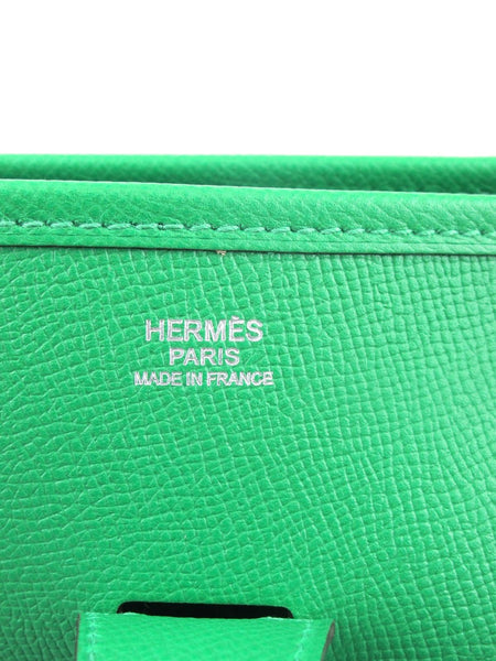 HERMES Bambou Evelyne III GM Clemence Leather New Color for 2014