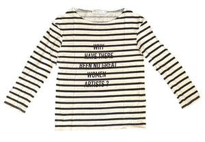 Christian Dior Striped Artist T Shirt size Large