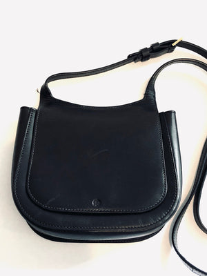 The Row Black Hunting 7 Saddle Bag