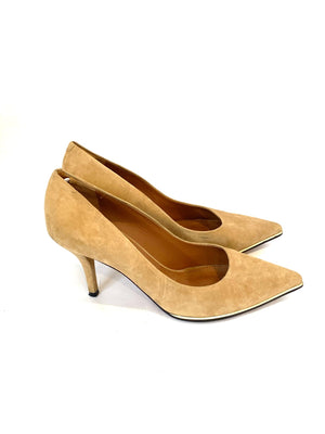 Givenchy Shoes Nude Suede Pointed Pumps Size 7