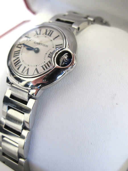 CARTIER Lady Ballon Bleu Watch Stainless Steel with Box