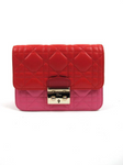 Christian Dior Miss Dior Mini Promenade Colorblock Clutch and Shoulder Bag
