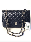 Chanel New Jumbo Leather Navy Flap Bag 2017 Collection