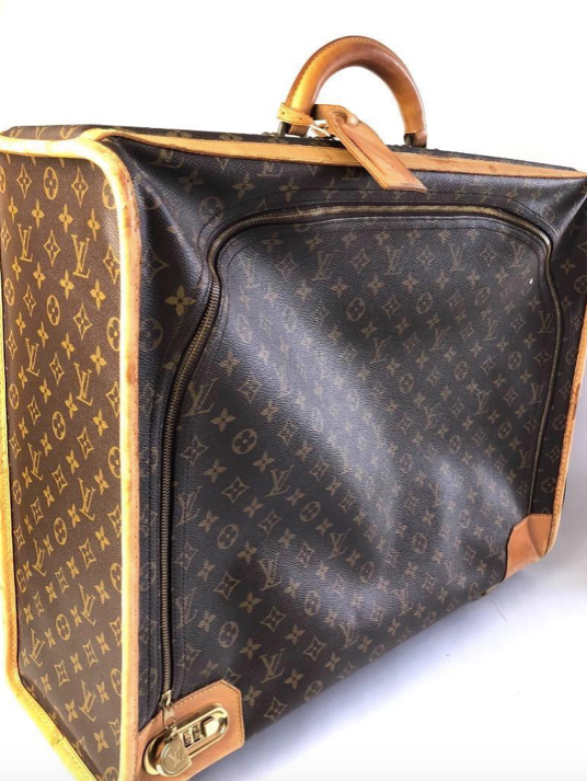 Louis Vuitton Monogram Canvas Vintage Pullman Suitcase