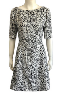 Dior Floral Sheath Dress Size 6