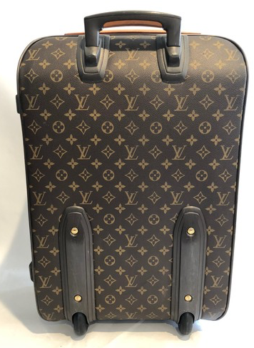 Louis Vuitton Pegase 45 Suitcase Brown Monogram Canvas Travel Bag