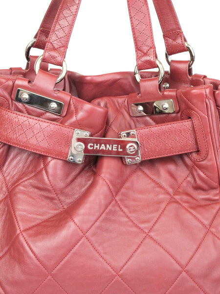 CHANEL Cinch Tote Bag