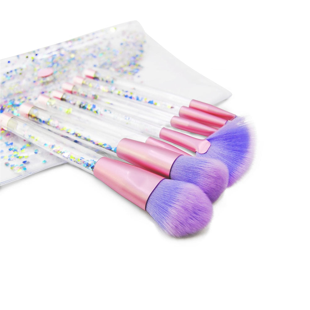 Glitter Unicorn Make-Up Case & Brushes