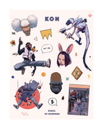 KON STICKER SHEET