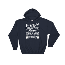 Laden Sie das Bild in den Galerie-Viewer, First i steal your Heart - Hoodie