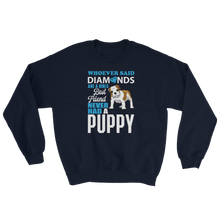 Laden Sie das Bild in den Galerie-Viewer, Diamonds and Puppy - Sweatshirt