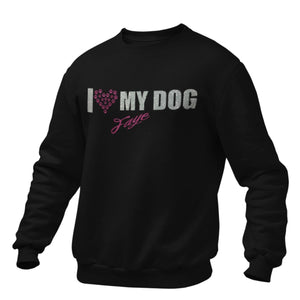 I Love my Dog (Personalisiert)