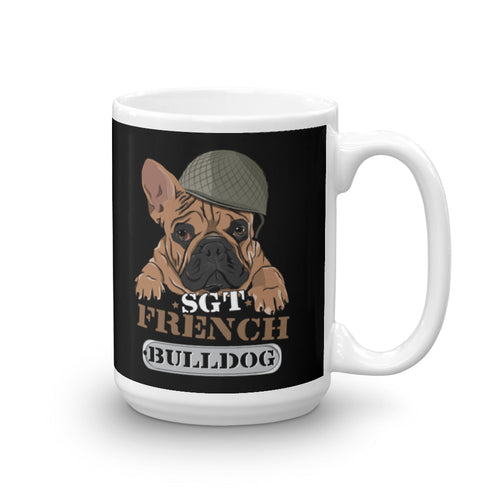 Sgt French Bulldog - Tasse