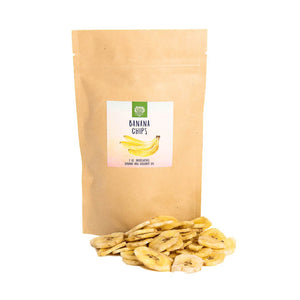 Banana Chips (2oz),Healthy snacks:Smallpetselect