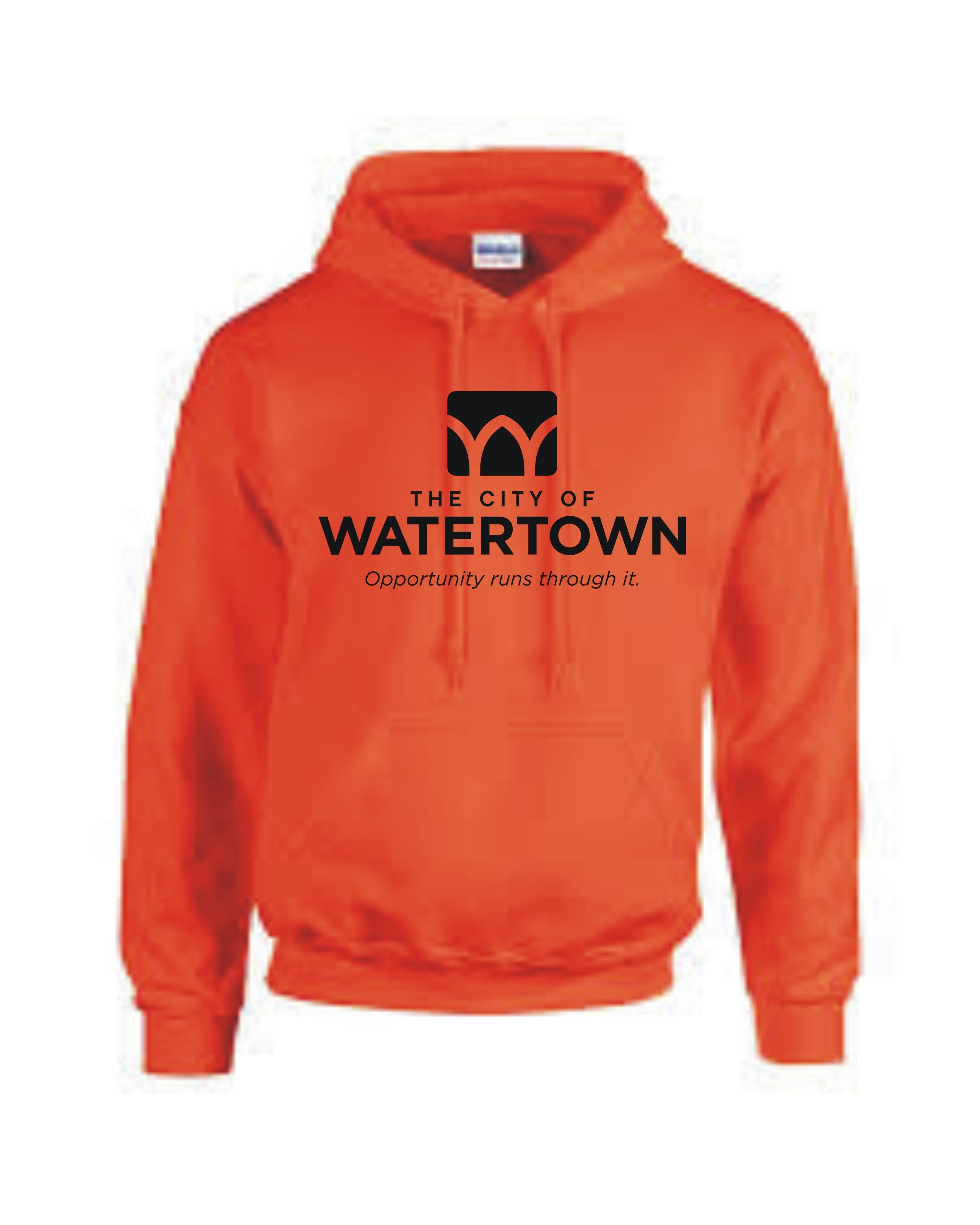 City of Watertown Adult Hoodie