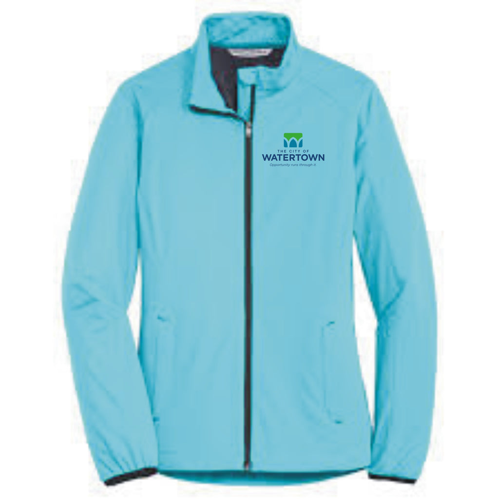 City of Watertown Ladies Active Soft Shell Jacket