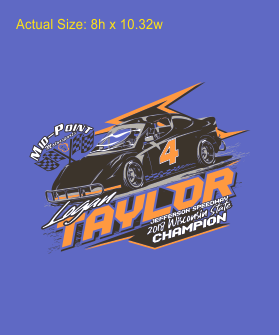 2018 Logan Taylor Champion T-Shirt
