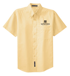 City of Watertown Mens TALL Short Sleeve Easy Care Shirt