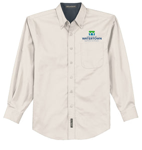 City of Watertown Mens TALL Long Sleeve Easy Care Shirt