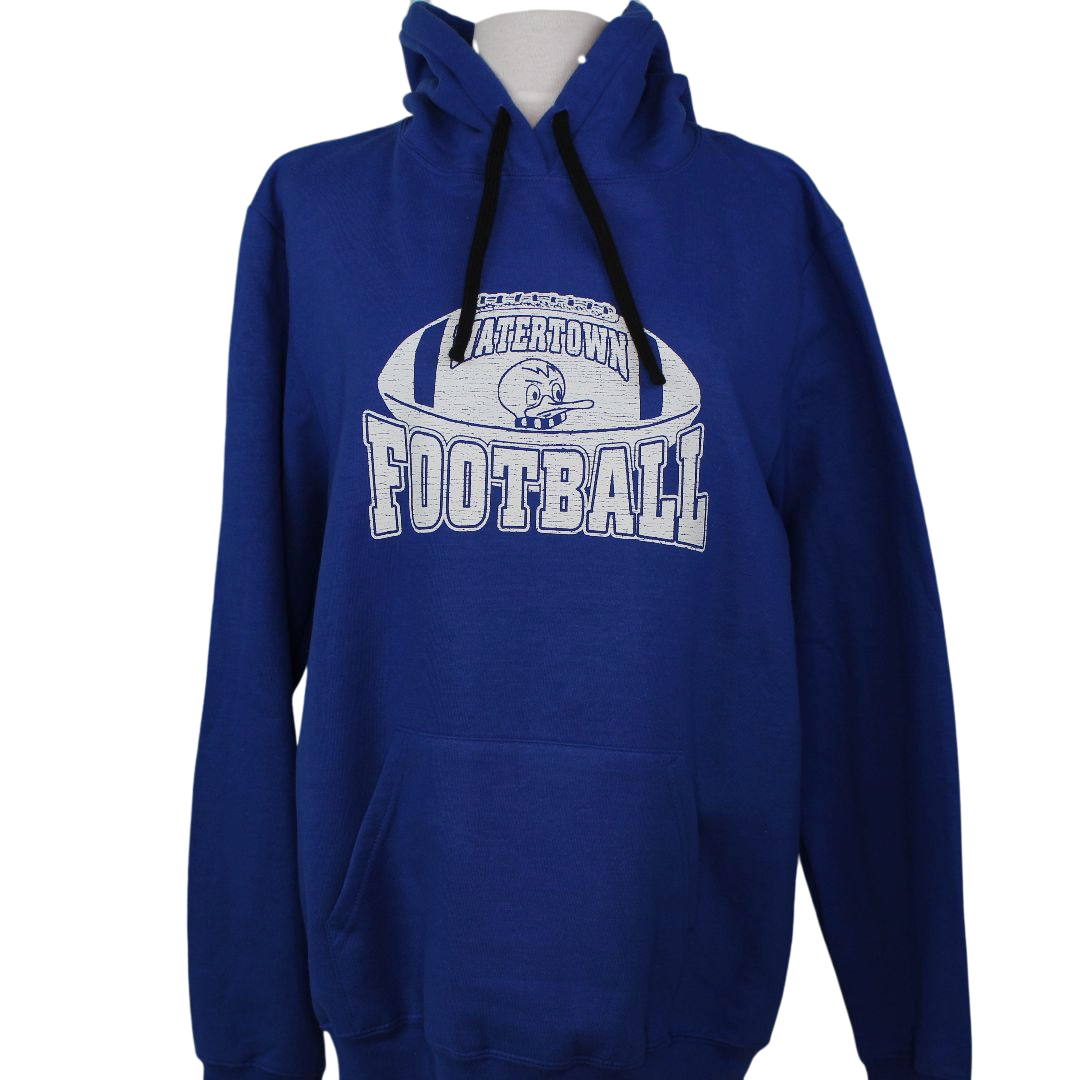 Watertown Football Fleece Hoodie Transfer