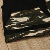 Camo Short 2 Piece Set