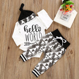 'Hello World' 3 Piece Set