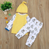 Squirrel 3 Piece Set