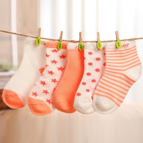 Set of 5 Cotton Socks