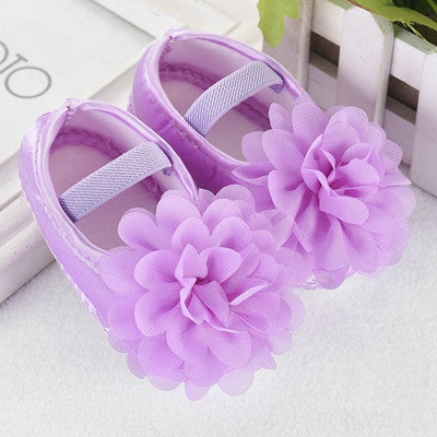 Silk Flower Ballet Shoe