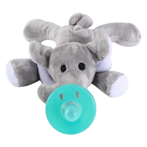 Elephant Teether with Plush Toy
