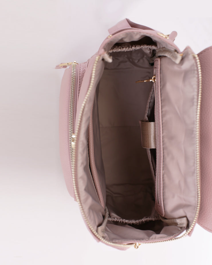 LIFE MINI BACKPACK-TAUPE