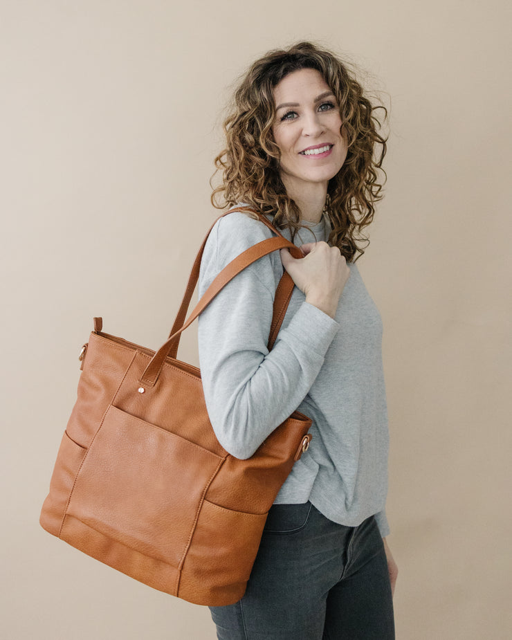 JOURNEY TOTE-BROWN