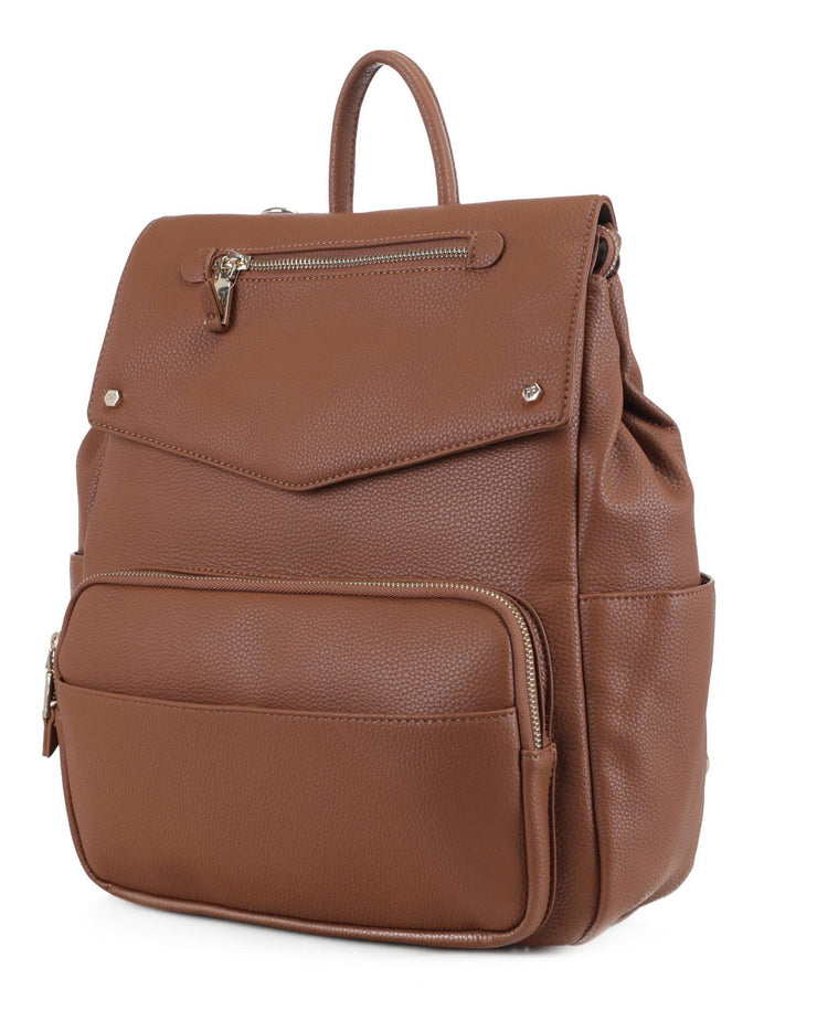LIFE BACKPACK 2.0-BROWN