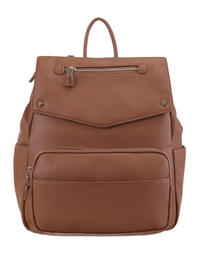 LIFE BACKPACK -BROWN