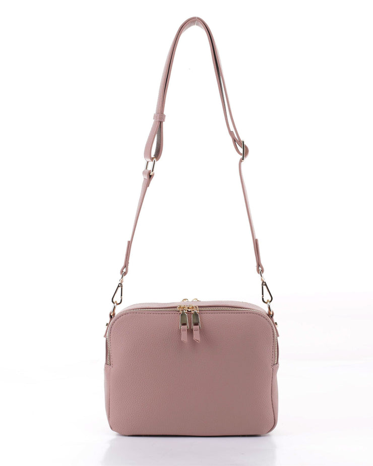 EVERYDAY CROSSBODY-DUSTY ROSE