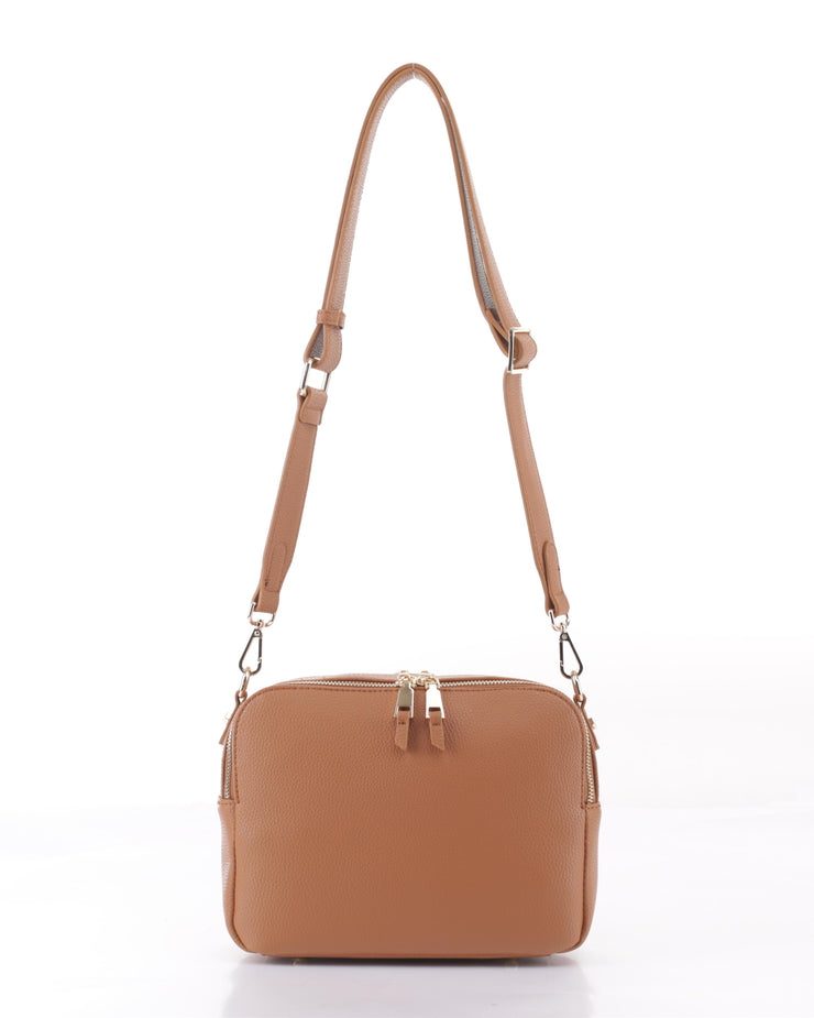 EVERYDAY CROSSBODY-CAMEL