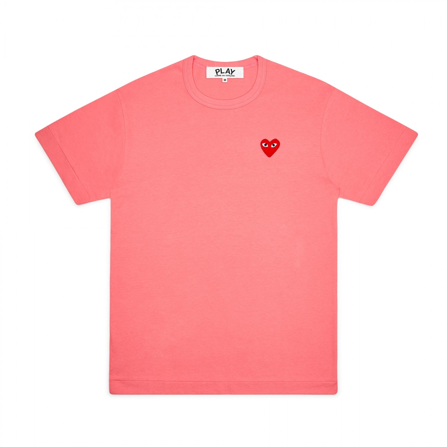 Play Comme des Garcons Red Heart T-Shirt (Pink)